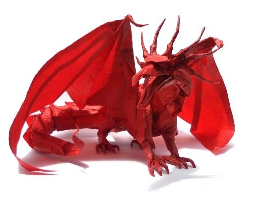 Origami Ancient Dragon Satoshi Kamiya Origami Tutorial Lets Make It