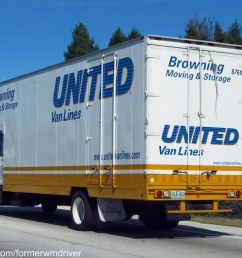 united van lines browning moving storage international box truck by formerwmdriver [ 1024 x 768 Pixel ]