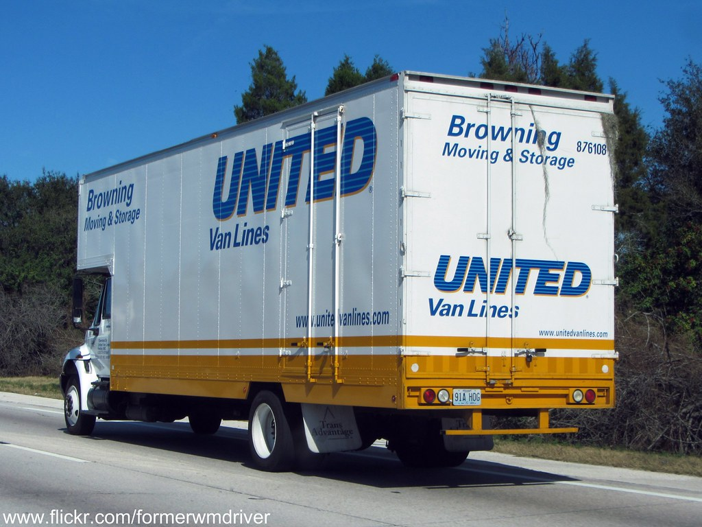 hight resolution of  united van lines browning moving storage international box truck by formerwmdriver