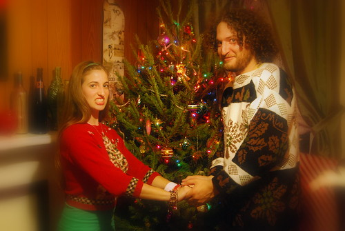 Awkward Christmas Card With Our Fantastic Ugly Sweaters