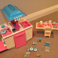Barbie Kitchen Playset Themes Decor 1984 Dream This Is A Complete Plays Flickr By Jadedoz