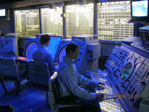 COMBAT INFORMATION CENTER CIC ONBOARD USS MIDWAY AIRCRAF  Flickr
