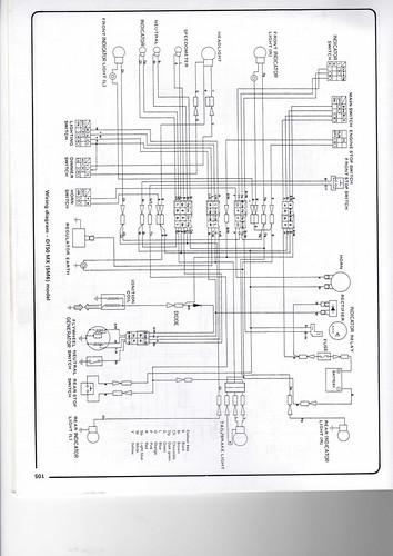 Starter Wiring Diagram Yamaha Dt50 Wiring Diagram Chris Wheal Flickr