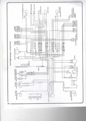 Yamaha DT50 wiring diagram | Chris Wheal | Flickr