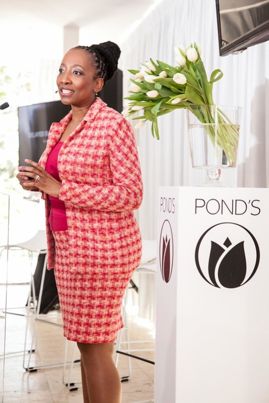Guest speaker Dermotologist Dr Mpofu. Instill Beautiful Skin Habits in your life with PONDS