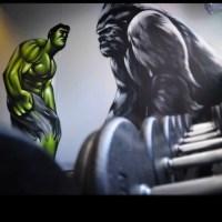Hulk in gym #Zase#zasedesign #gallery #graffiti #ghettoyou ...