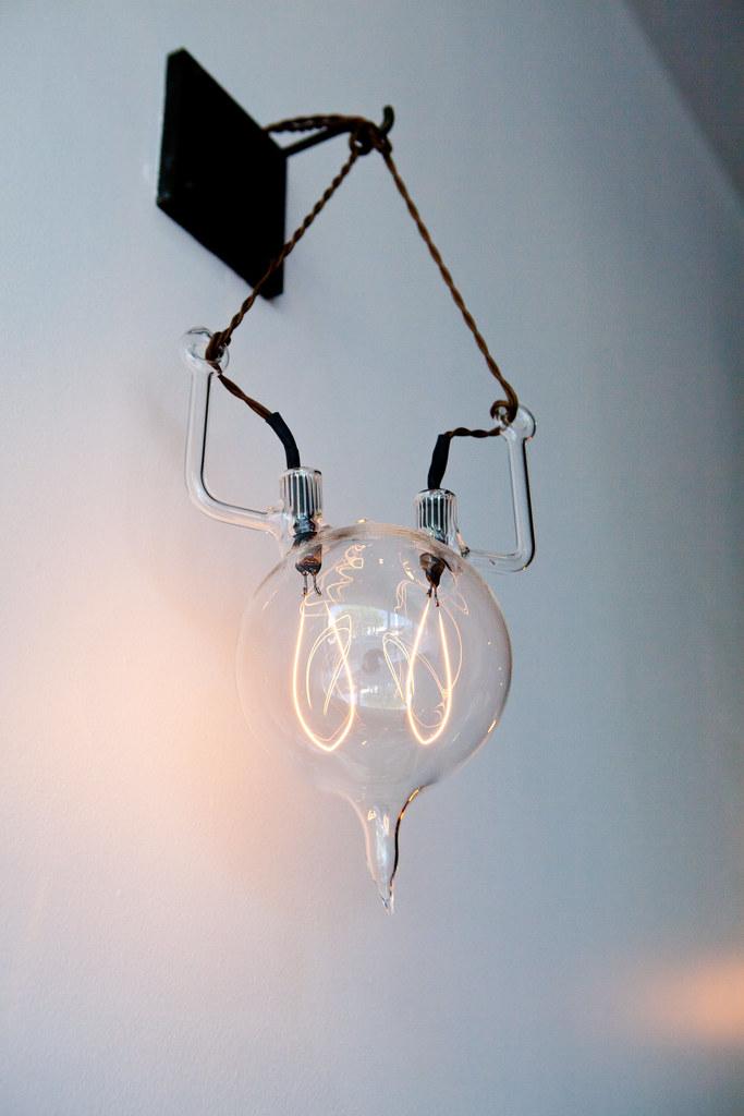 interesting antique light bulb