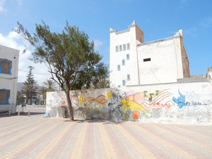 Graffiti in Sidi Ifni