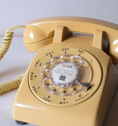 60s working buttercream telephone retro phone vintage electronics 1960 s office [ 1024 x 1023 Pixel ]