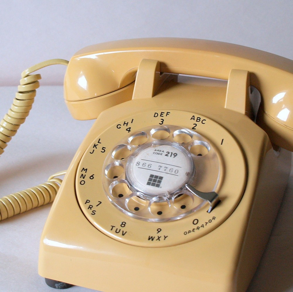 medium resolution of  60s working buttercream telephone retro phone vintage electronics 1960 s office