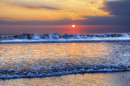 Sea Sunset Wallpaper Hd A Sunset Wave Daily Hdr Blog Hdr One Magazine