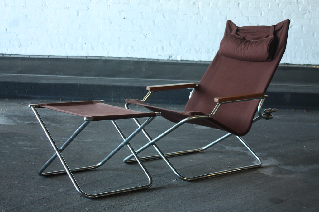 folding z chair patio chaise lounge chairs under 100 appealing shigeru uchida japanese modern a flickr and ottoman japan 1970s by