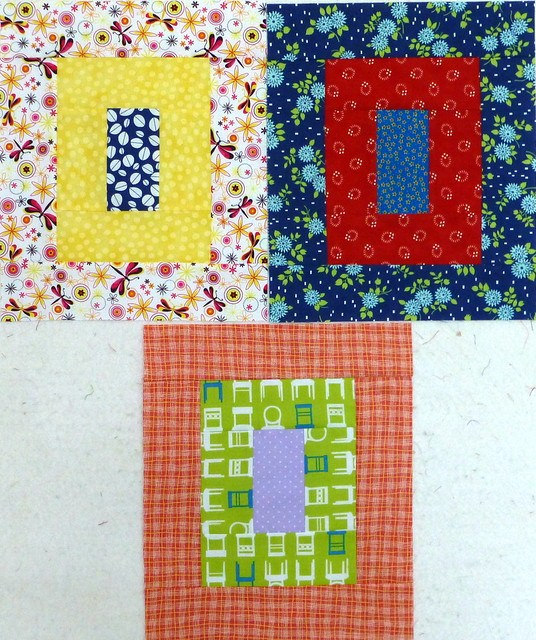 June blocks for Bee Blessed