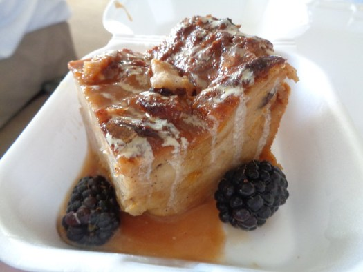 Bread Pudding, Chef Ron's Gumbo Stop