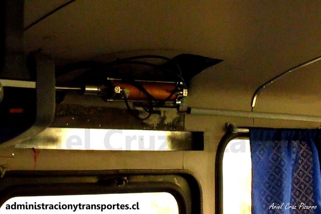 Inrecar S.A   Servo / Mecanismo Apertura y Cierre de puertas de bus