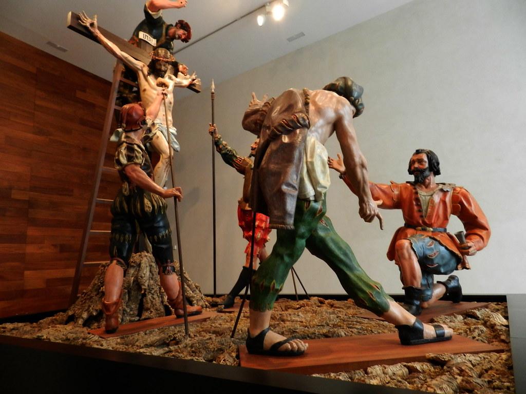 Museo Nacional Esculturas Colegio San Gregorio Sala Pasos de Gregorio Fernández y Francisco Rincón Valladolid 02