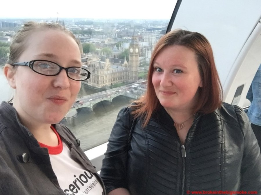 London Eye with Victoria