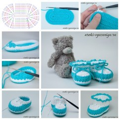Crochet Baby Booties Diagram Gibson Sg Pro Perfect Gift Flickr By Wonderful Diy