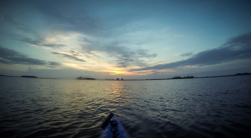 Indian River Sunrise Paddling-12