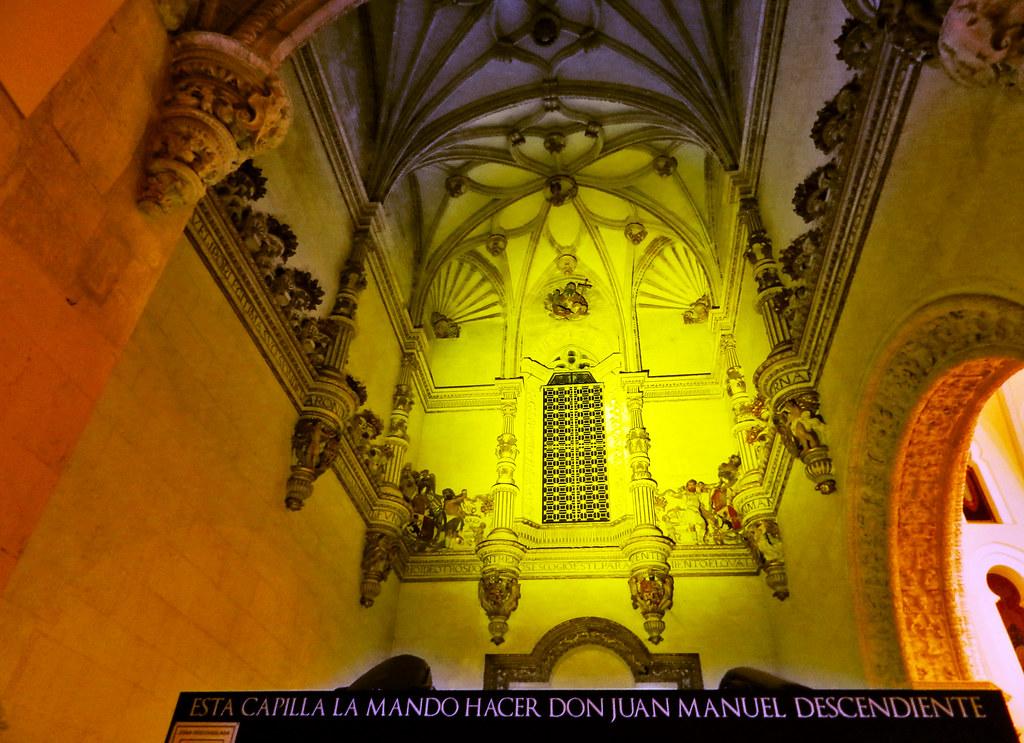 Capilla de los Manuel de estilo plateresco Iglesia de San Pablo Peñafiel Valladolid 10