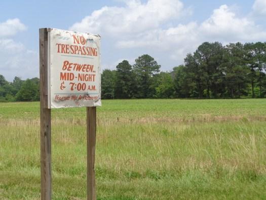 No Trespassing, Lavaca AL