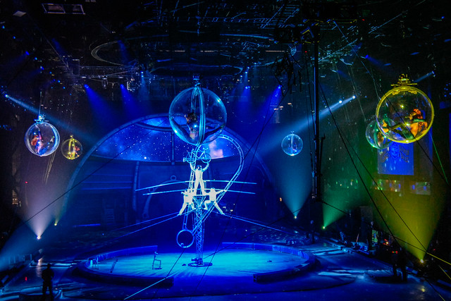 Opening Scene of Ringling Bros. Out of This World