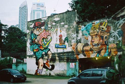 Graffiti in Kuala Lumpur