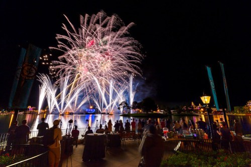 Epcot - Disney Photo Magic Illuminations Party