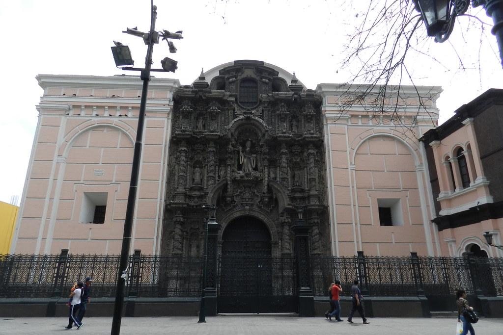 Peru Lima Iglesia de San Agustin 02