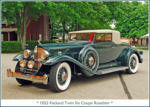 1932 Packard Twin Six Coupe Roadster  Visit to the Grand