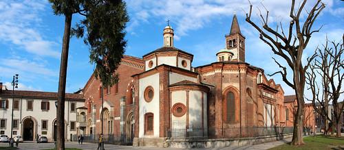 Milano – La basilica di Sant'Eustorgio (in Explore 06.03.2014)
