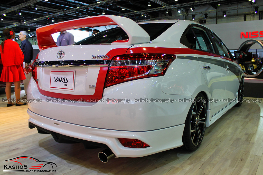 toyota yaris trd harga grand new veloz 1.5 a/t sport modified bodykit spoiler flickr by kasho0o5