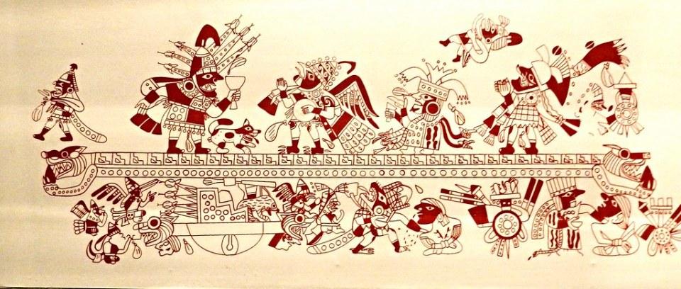 Museo Larco Sala de la ceremonia del sacrificio otros sacrificios Mochica 5233