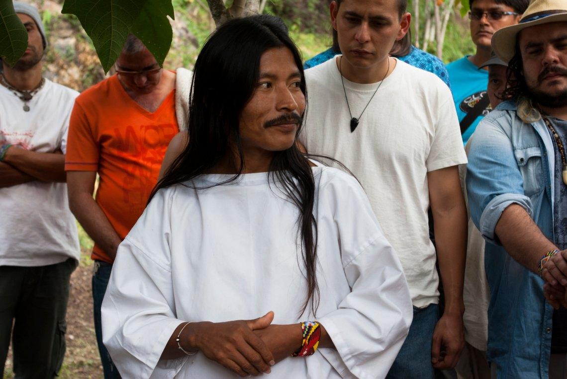 Lwntana Nakoggi dialoga con los devotos