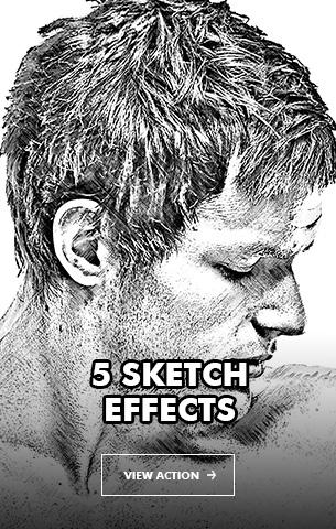 Wet Ink Photoshop Action - 110