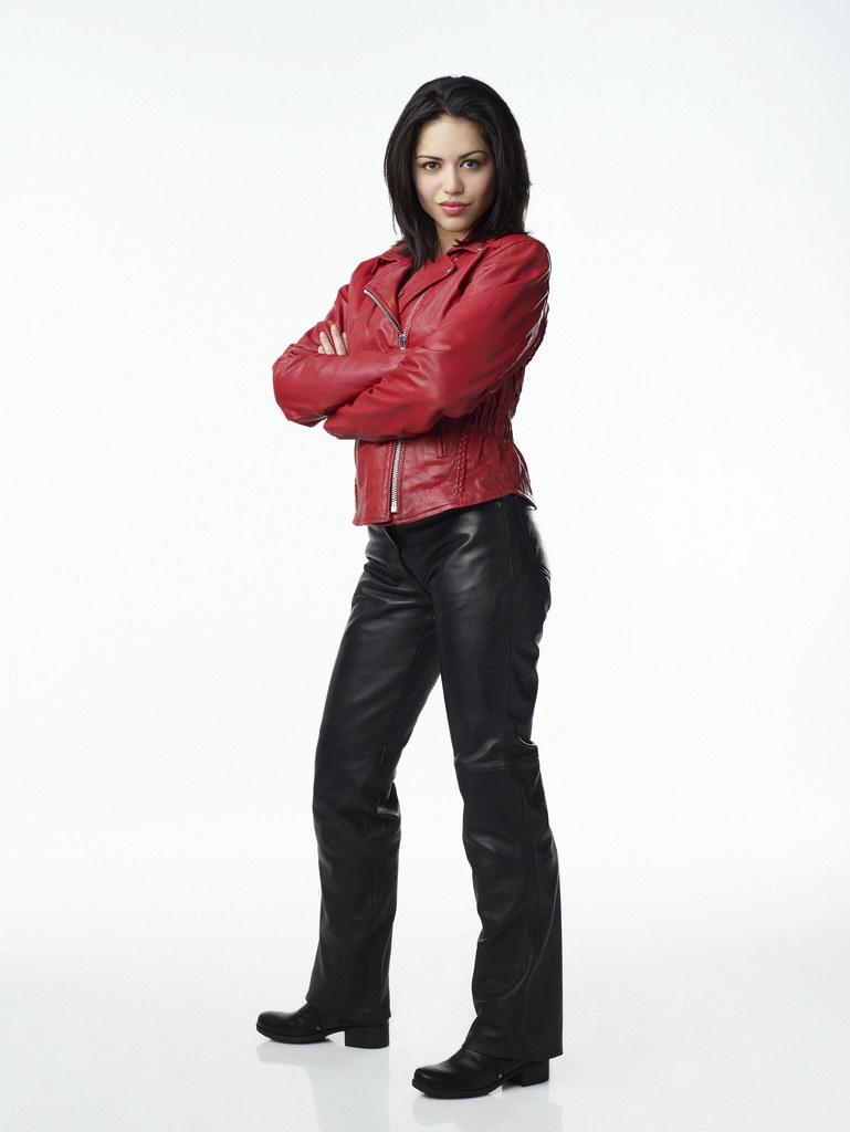 Alyssa Diaz Hot alyssa diaz in leather pants and jacket alyssa diaz in bla