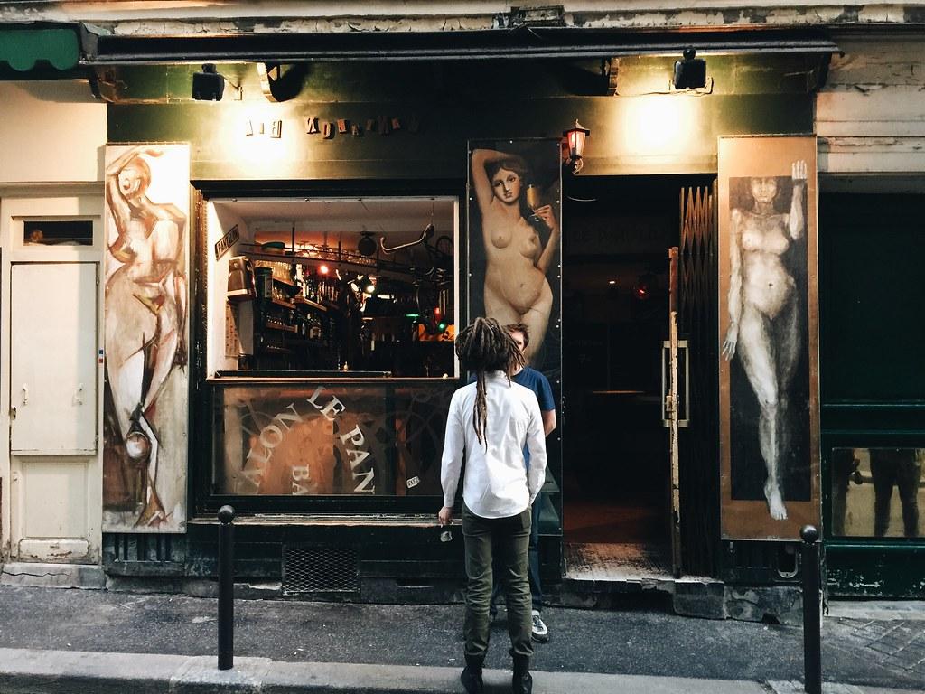 le pantalon bar paris