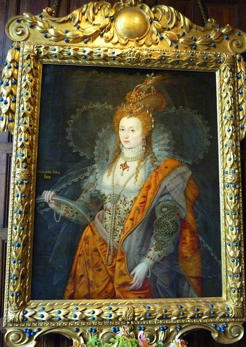 The Rainbow Portrait of Queen Elizabeth I at Hatfield Ho