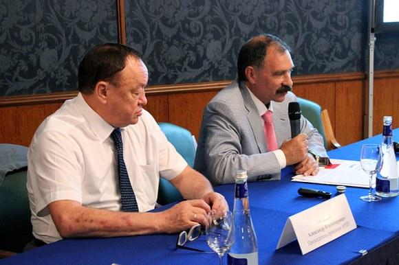 Президиум конференции - руководство Ассоциации распространителей печатной продукции