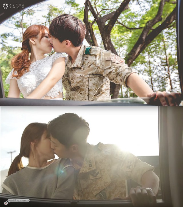 AlphaSnow Photography Descendants of the Sun Ep9 Petrol Station Kiss