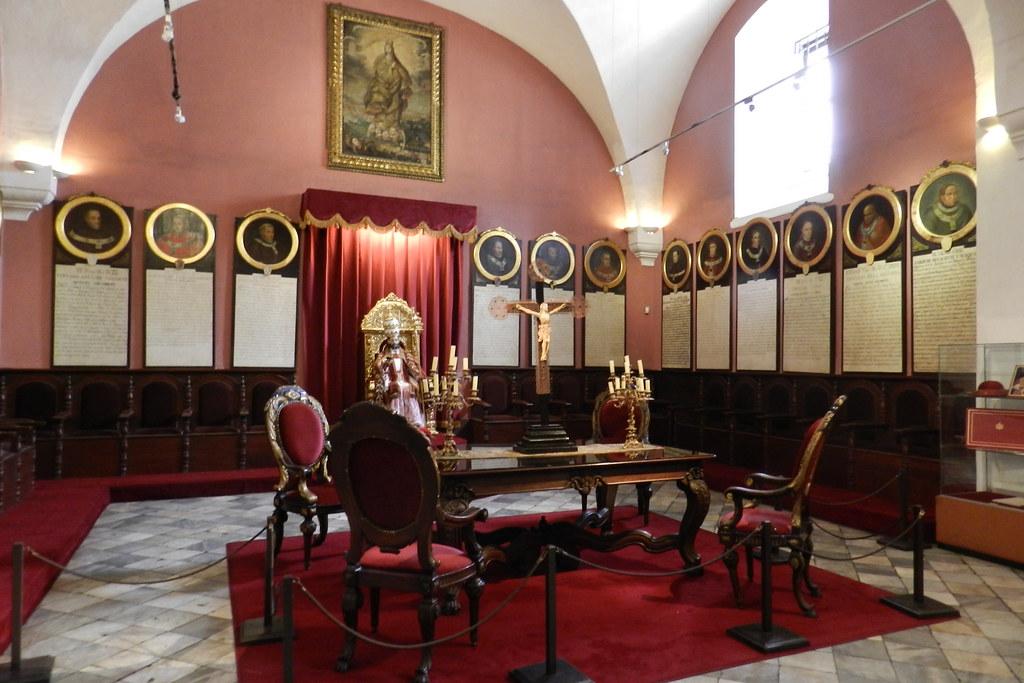 Peru Sala Capitular Museo de la Catedral de Lima 18
