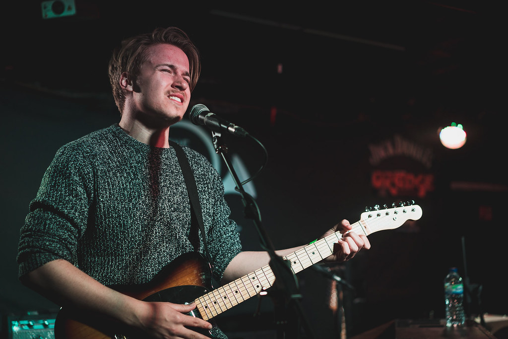 Jack Watts supporting Slow Club at the Horn