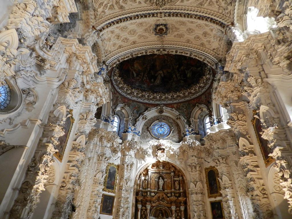 Granada La Cartuja iglesia Retablo de la sacristia 03
