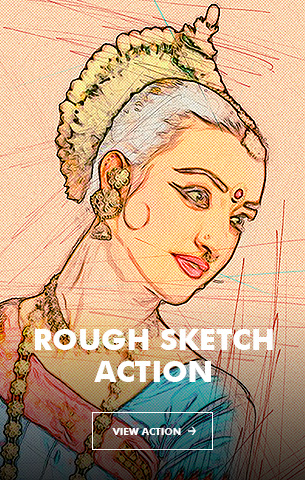 Special Sketch Photoshop Action - 114