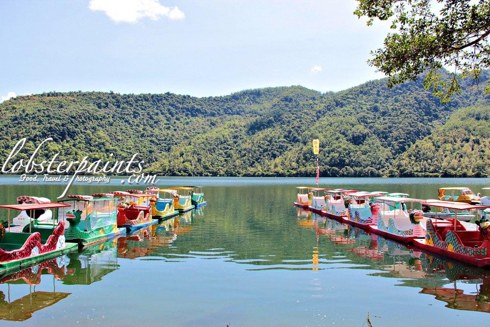 14 September 2012: Liyu Lake Scenic Area 鲤鱼潭   Hualien, Taiwan