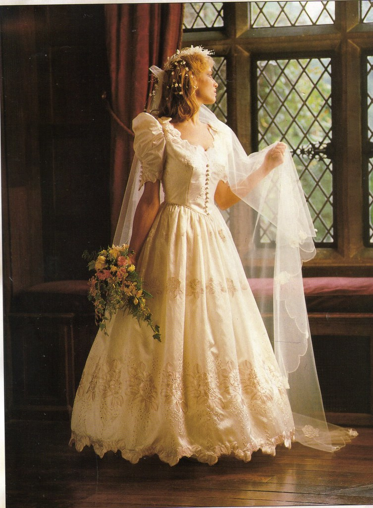 Pronuptia Bridal Gowns 1987  Flickr