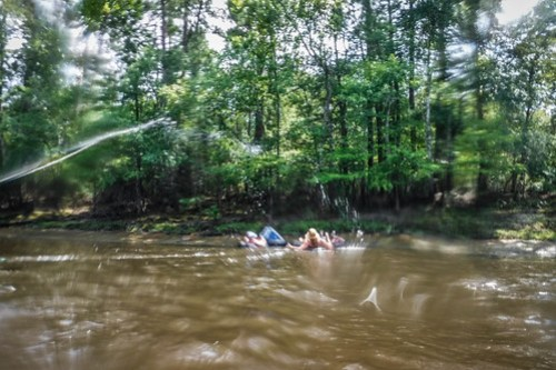 Edisto Beer Commercial and Rope Swing Float-122