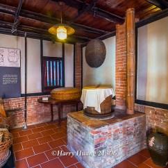 Steamer Kitchen Rugs And Mats Harry 21306 廚房 灶腳 灶 蒸籠 桌蓋 竹籃 木桶 復古 懷舊 三合院 古厝