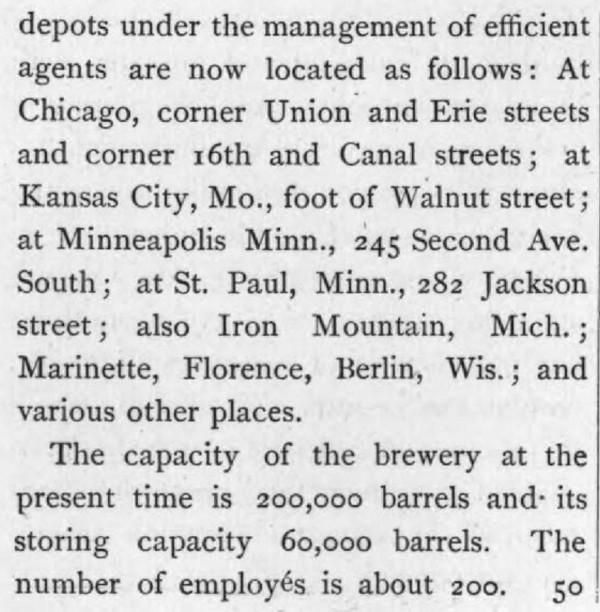Historic Beer Birthday Valentin Blatz Brookston Beer