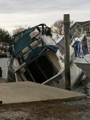 Superstorm Sandy Hurricane Sandy Anchorage Marina Linde